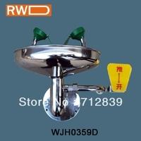Stainless steel  emergency wall mounted eye wash WJH0759D