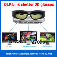 wholesale active shutter dlp link 3d glasses for dlp-link 3d projector for Varied brand projectors