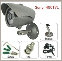 HOT! 480TVL 1/3 Sony CCD Surveillance Camera Support Night Vision and Waterproof