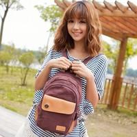 High quality girl's handbag 2013 new arrive fashion canvas bag women's travel bag student knapsack bag xqw075