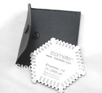 Stainless Steel Wet Film Comb Hexagonal Gauge 25-3000 um gage