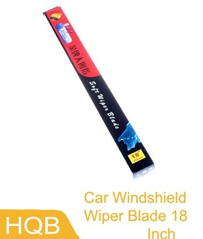 Universal Soft Frameless Car Windshield Wiper Blade 18 Inch,free shipping Wholesale