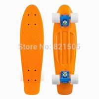 "22"" Penny Style Skateboard Plastic Complete Globe Bantam Mini Skates Cruiser Retro long  skate board Old School longboard"