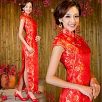 Long cheongsam dress design cheongsam marry long cheongsam design fashion liturgy cheongsam welcome formal dress