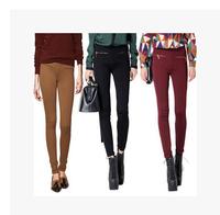 Fashion 2014 spring autumn pants elastic slim zipper legging gladiator pants trousers