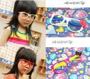 Children's design sunglasses glass frame without glasses Frame glasses 2-10 years old(China (Mainland))
