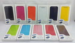 Flip Cover For S4 I9500 ,Back cover flip leather case battery housing case for Samsung Galaxy SIV i9500 + Retail Box 10pcs/lot(China (Mainland))