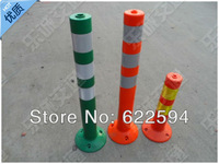 The warning column PU75CM elastic column crossing standard plastic reflective column road-induced column Traffic Safety