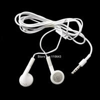 High Quality Sound White Headset Earphone for iPhone 4 4S 3GS 3G iPod Touch Nano Headphone Earbuds Free Shipping 8693