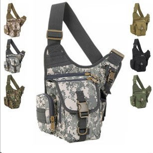 Camouflage small bags bag women's handbag messenger bag man bag messenger bag small outdoor casual slr camera bag wholesales