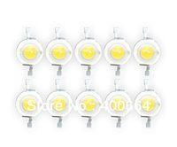 50pcs/Lot 1W LED chip high power lamp beads high quality Beads Warm White 3000K-3500K LED lights 100-110LM for DIY LED Lamp