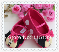 Fashion New, Mothercare shoes back Baby fashion girls Minnie cartoon shoes infant shoes