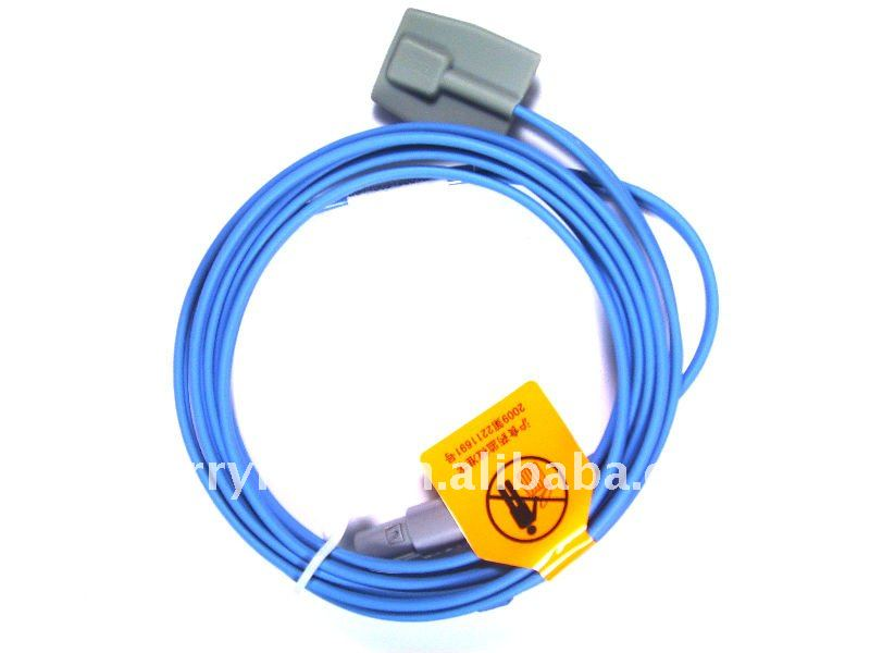 High Quality! Spo2 Meter, Pediatric/Child Spo2 Sensor, Length 2.7m, TPU Cable(China (Mainland))