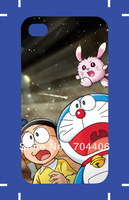 Free shipping fashion cute Doraemon series your own design case for iphone 4,cell phone cases