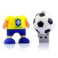 2014 The Brazilian World Cup Waterproof Super Mini tiny 8GB USB 2.0 Flash Memory Stick Drive U Disk Festival Thumb/Car/Pen Gift