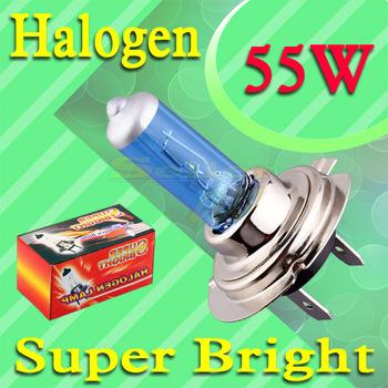 10pcs H7 55W 12V Super Bright   Hight Power White Fog Halogen Bulb Lamp Car Head Light car styling car light source parking