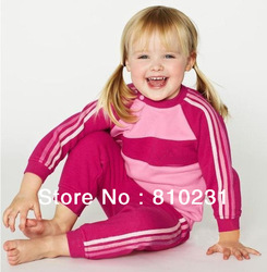 New Arrival!! 2013 Spring & Autumn brand children 2pcs set Hoodies coat+pants,kids sport suit,kid garment Wholesale or Retail.(China (Mainland))