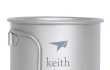 New Titanium Mug Camping Cup Water Cup 350ml 56g KS811