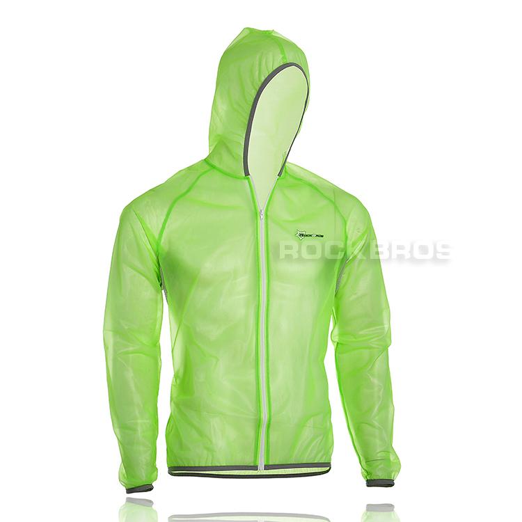 ROCKBROS Tour de France Cycling Wind Coat Rain Coat Green, White, fluoresent green, Orange(China (Mainland))