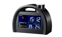 New Digital Weather Temperature LED backlight light LCD Snooze Station Calendar Alarm Clock Wholesale