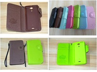 MLT Wallet leather Credit Card Money with SoftTPU Back Case for sony Xperia V LT25i    1pcs/lot