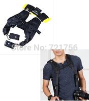 Neck Strap 100% New Double Shoulder Belt Strap, Black Professional QUICK STRAP For Tow Video Cameras5D 2 550D D7000 D3 SLR DSLR