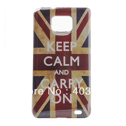 Retro British National Flag Pattern Hard Case for Samsung Galaxy S2 I9100(China (Mainland))