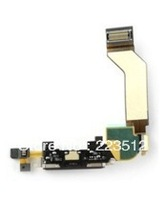 Dock charger connector flex cables for iphone 4  4S+Free shipping