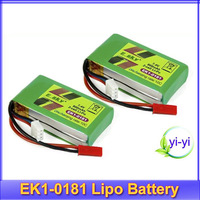 2pcs/lot ESKY LAMA 000173 EK1-0181 7.4V 10C 800mAh Lipo Battery for Lama V3 V4+free shipping
