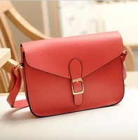 new 14 Color Ladies' postman deisgn shoulder bag Vintage style FreeShipping