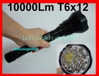 TrustFire 10000Lm 12x CREE XM-L T6 26650/18650 serching Defender tactical Torch