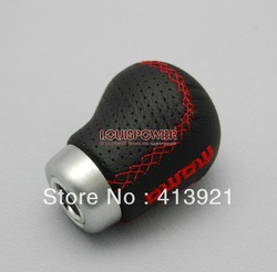 Hotsale MOMO genuine leather shift lever knob(China (Mainland))