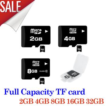Wholesales- 2GB 4GB 8GB 16GB 32GB micro sd card/TF card +Free adapter + Free usb reader- free shipping, full capacity