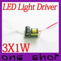 [Low Price High Quality]10pcs 1W 3W LED Driver Lighting Transformers For E27|GU10 Spotlight