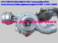GT1749V/767835-5001S Turbocharger for Croma,Stilo,Astra,Vectra,Zafira,Signum,Engine:Z19DT 1.9TD 120HP