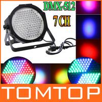 Professional AC 90-240V 127 RGB LED Effect Light DMX512 7 Channel Par Lights DMX-512 Stage Light for Disco DJ Party Show