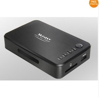 Free Shipping!!Brand Measy 1080P USB SD MMC MKV Media Player HDD IR CAR DVD Drive,CD-ROM,DOLBY
