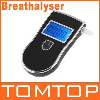 Digital Prefessional Police Breath Alcohol Tester Battery the Breathalyzer Parking Car Detector Gadget Gadgets Meter Dropship