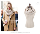 New hot! fashion style Unisex Winter knitting Wool Collar Neck Warmer woman Ring Scarf Shawl(China (Mainland))