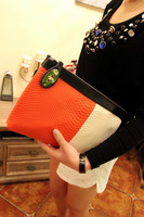 Free Shipping Classic Hit High-end Color Serpentine Patchwork Clutch Bag Shoulder Bag Messenger bag women bag Quality Assurance