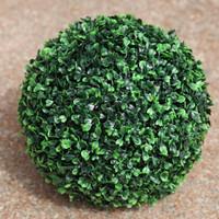 5x Artificial Grass Plastic Bonesetter Grass Ball Artificial Plants 12cm plastic grass