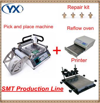 HOT! SMT Machine! Surface Mount System, SMT Pick And Place Machine,Desktop Pick and Place Machine, 0402, TM240A