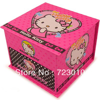 Hello Kitty casket/Hello Kitty mini storage box /casket for cosmetics/caskets for storage jewelry/ best new year gift for girl
