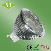 free shipping 5w ce rohs saa cob mr16 bulbs led lighting