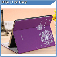 factory price Magnetic Smart Cover Luxury leather Case for ipad 2 for Ipad3 4 New Ipad with 360 Degrees Rotating Stand