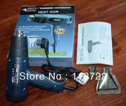 Free shipping 1600W electric Hot Air Gun,car wrap professional heater tool, temperature adjustable heat gun,travel adaptor gifts(China (Mainland))