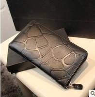 South Korean style fashion PU leather handbag designer wallet clutch purse night lady bag give free shipping