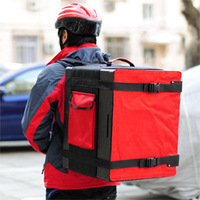 Pizza delivery bag for backpack,Keep food hot,fast food delivery boxes, delivery bag,Heat Insulated Box