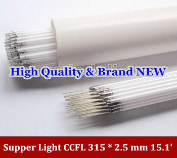 "Wholesale & retauk  for Supper Light CCFL 315 * 2.5 mm, 15.1"" LCD Backlight Lamp 10pcs/lot Best price"