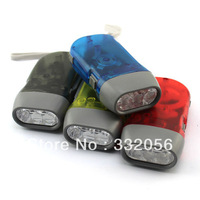 3 lamp hand-pressing flashlight eco-friendly 3 lamp hand-pressing flashlight emergency light flashlight